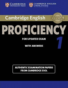 Cambridge English Proficiency 1 for Updated Exam Student´s Book with Answers