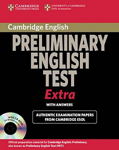 Cambridge Preliminary English Test Extra Student´s Book with Answers and CD-ROM