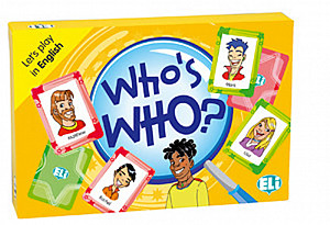 Let´s Play in English: Who´s Who?