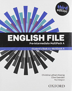 English File Third Edition Pre-intermediate Multipack A (without CD-ROM)
