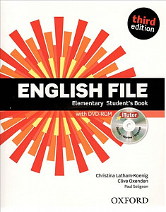 English File 3rd edition Elementary Student´s book (without iTutor CD-ROM)