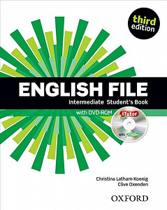 English File 3rd edition Intermediate Student´s book (without iTutor CD-ROM)