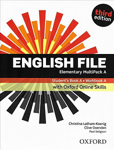 English File Elementary Multipack A with Oxford Online Skills (3rd)
