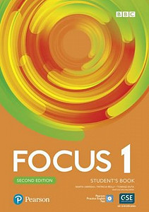 Focus 1 Student´s Book with Basic Pearson Practice English App (2nd)