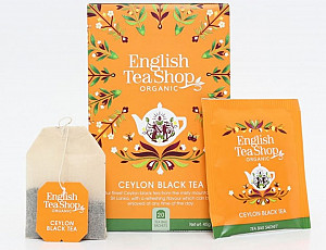 English Tea Shop Černý čaj cejlonský - design mandala