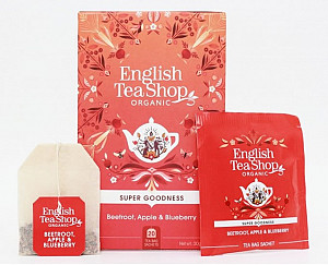 English Tea Shop Červená řepa, jablko a borůvka -  design mandala
