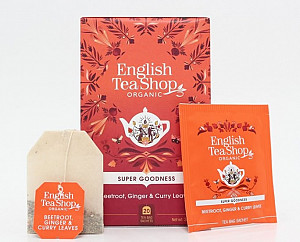 English Tea Shop Červená řepa, zázvor a curry - design mandala