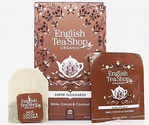 English Tea Shop Mate, kakao a kokos - design mandala