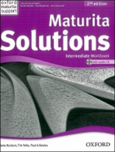 Maturita Solutions Intermediate  Workbook with Audio CD PACK Czech Edition
