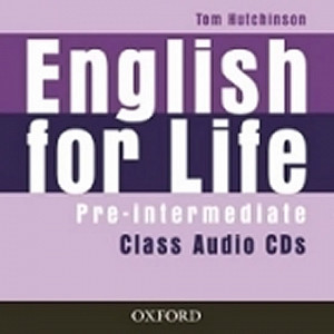 English for life Pre- intermediate Class audio CDs