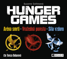 HUNGER GAMES – komplet (audiokniha)
