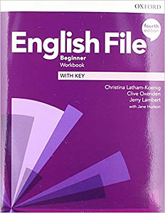 English File Fourth Edition Beginner Workbook with Answer Key