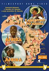 Afrika 1.+ 2. díl + Z Argentiny do Mexika - 3 DVD box