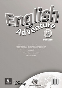 English Adventure Level 3 Posters