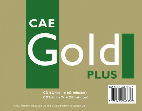 CAE Gold Plus CBk Class CD 1-2