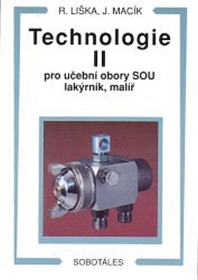 Technologie II pro učební obory SOU lakýrník, malíř