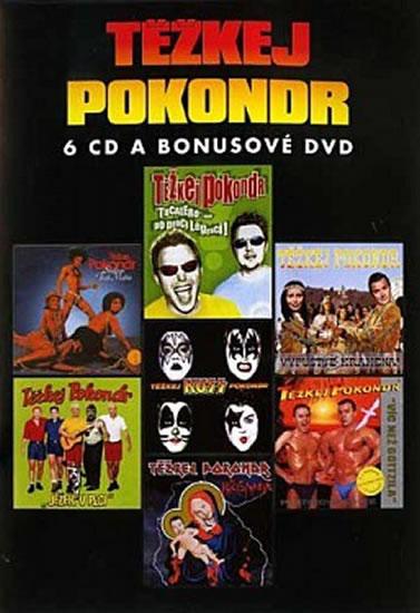 Těžkej Pokondr - Best of - 6CD/DVD