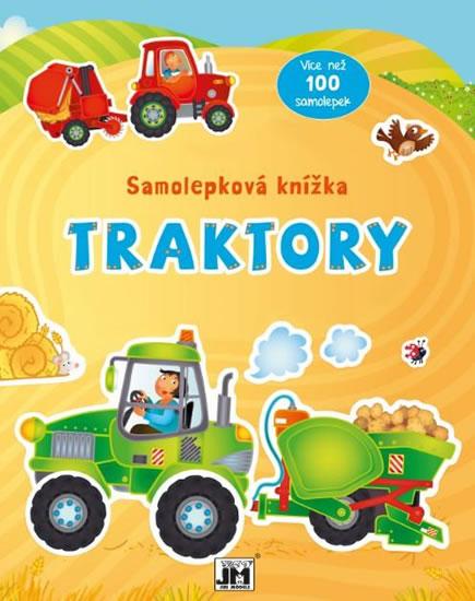 Traktory - Samolepková knížka