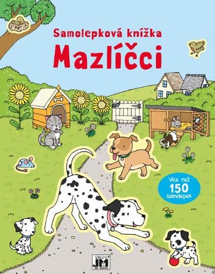 Mazlíčci - Samolepková knížka