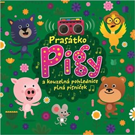 Prasátko Pigy a kouzelná pohlednice plná písniček - CD