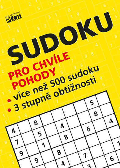 Petr Sýkora Sudoku pro chvíle pohody