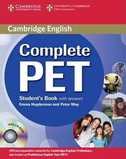 Complete PET Student´s Book with answers with CD-ROM
