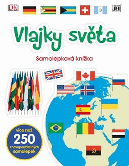 Vlajky světa - Samolepková knížka