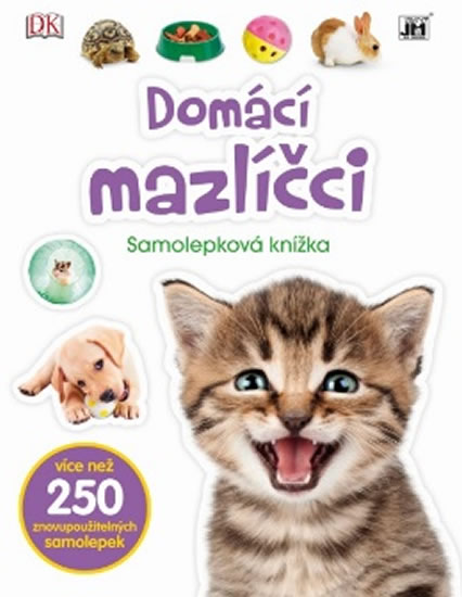 Domácí mazlíčci - Samolepková knížka
