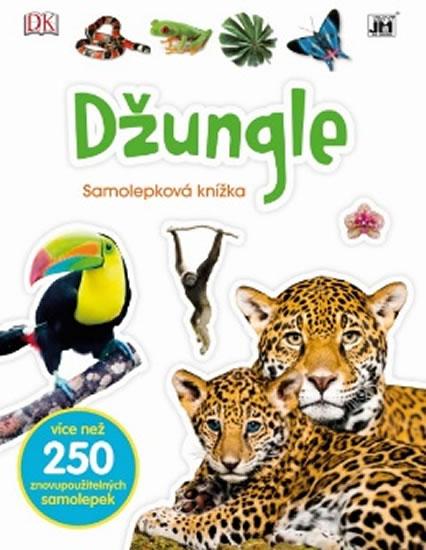 Džungle - Samolepková knížka