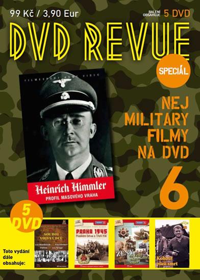 DVD Revue speciál 6 - Nej military filmy na DVD - 5 DVD