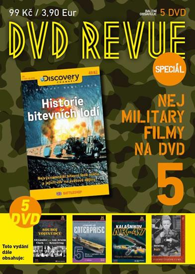 DVD Revue speciál 5 - Nej military filmy na DVD - 5 DVD