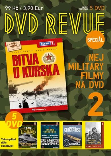 DVD Revue speciál 2 - Nej military filmy na DVD - 5 DVD