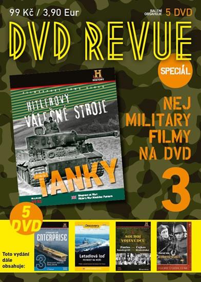 DVD Revue speciál 3 - Nej military filmy na DVD - 5 DVD