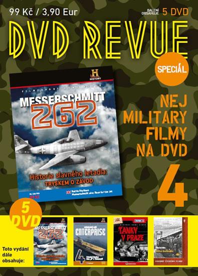 DVD Revue speciál 4 - Nej military filmy na DVD - 5 DVD