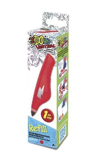 IDO3D Vertical: náhradní náplň - červená