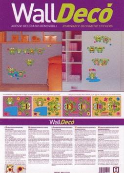 Žabáci walldecor A3
