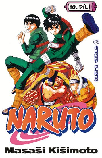 Masaši Kišimoto Naruto 10 Úžasný Nindža