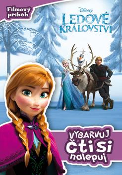 Ledové království - Filmový příběh - Vybarvuj, čti si, nalepuj