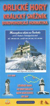 Orlické hory 1:75 000 Zimní lyžařská mapa 2015