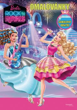 Barbie - Rock´n Royals - Omalovánky - Samolepky uvnitř!