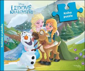 Ledové království - Kniha puzzle - Poskládej si pohádku