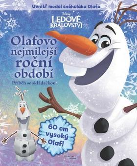 Ledové království - Olafovo nejmilejší roční období - příběh se skládačkou