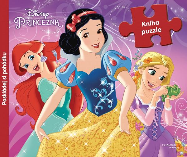 Princezna - Kniha puzzle - Poskládej si pohádku