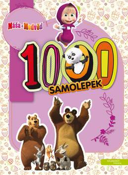 Máša a medvěd - 1000 samolepek