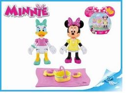 Minnie a Daisy figurky kloubové 8cm