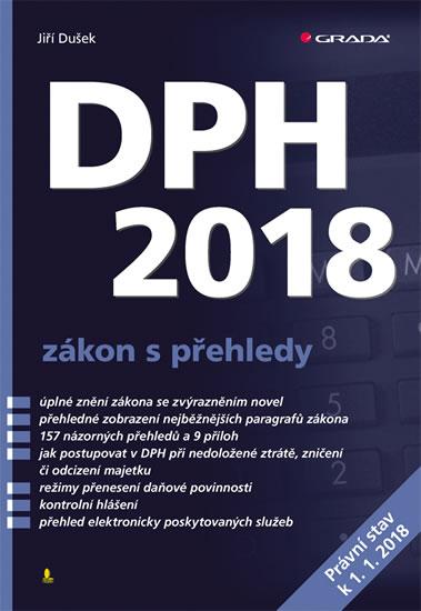 DPH 2018 zákon s přehledy