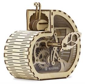 3D puzzle Pokladnička Šnek 83 dílků