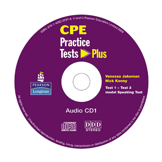 CPE: Practice Tests Plus CDs 1-2