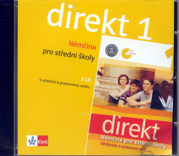 Direkt 1 - Němčina pro SŠ - 2 CD