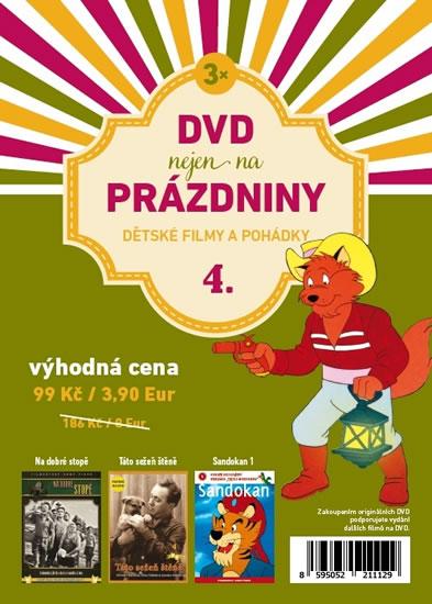 DVD nejen na Prázdniny 4. - Dětské filmy a pohádky - 3 DVD